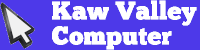 Kaw Valley Computer Logo